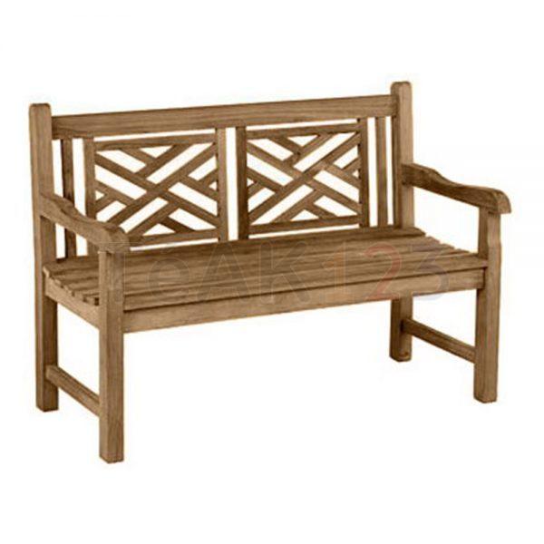 teak bench garden