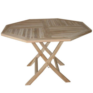 Octagonal Folding Table 120