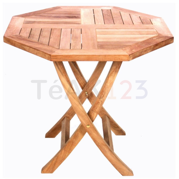 Small Folding Octagonal Table
