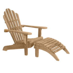 Beach Bench Deck Chair W. Brass