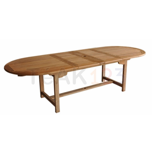Grande Oval Double Ext Table