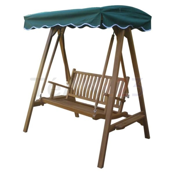 Garden Swing Bench With Stand And Canopy